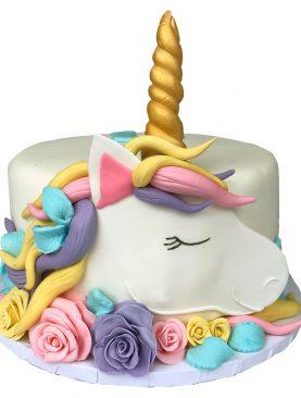 Tort Unicorn cu trandafiri