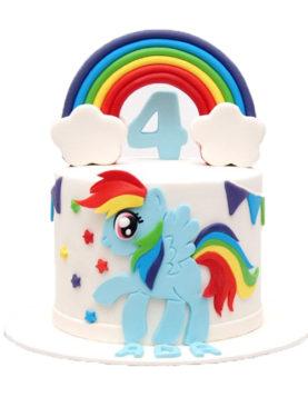 Tort rainbow dash