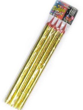 Set de 4 artificii pentru tort (20 cm)
