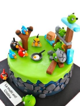 Tort angry birds fight
