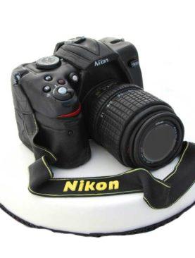 Tort aparat foto Nikon