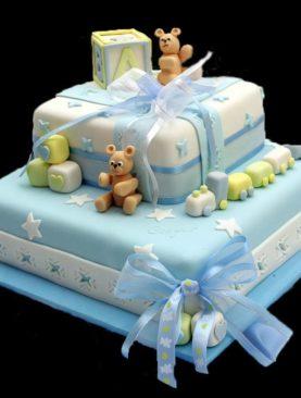 Tort botez baiat elegant