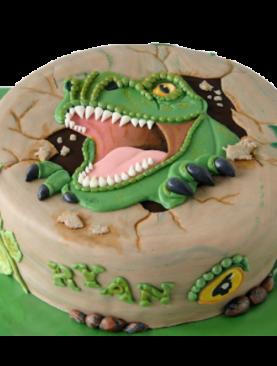 Tort dinozaur T-rex