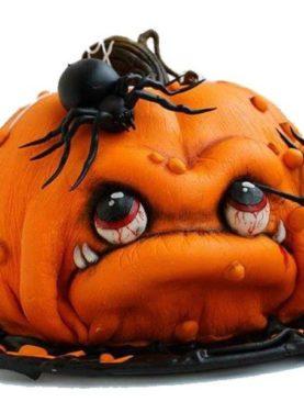 Tort Halloween dovleacul infricosator