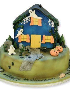 Tort Halloween castelul bantuit