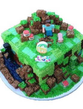 Tort Minecraft forest
