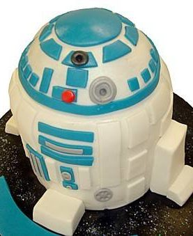 Tort robotelul R2 din Star Wars