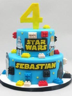 Tort Star Wars lego
