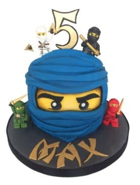 Tort cu Lego Ninjago Maestrii Spinjitzu