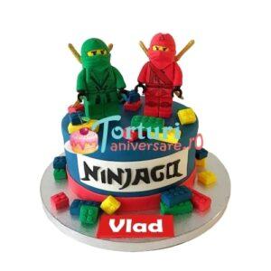 Tort cu Lego Ninjago