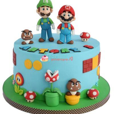Tort super Mario si Luigi