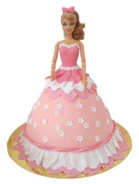 Tort cu papusa Barbie