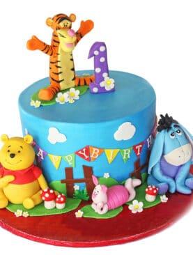 Tort Winnie the Pooh si prietenii