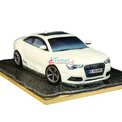 tort in forma de masina Audi A4
