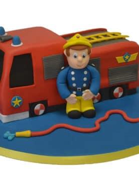 Tort pompierul SAM si masina