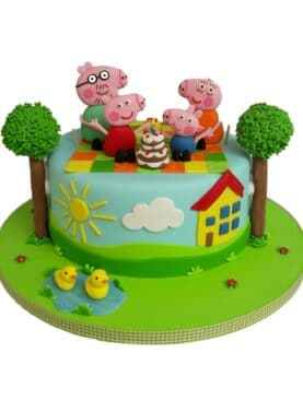Tort Purcelusa Peppa Pig
