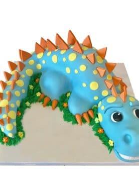 Tort dinozaur 3D