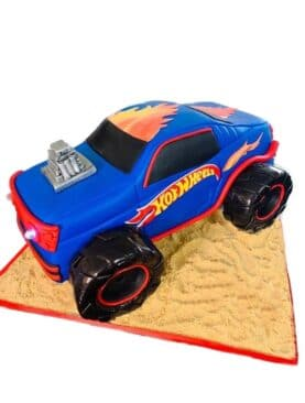 Tort Monster Truck Hot Wheels
