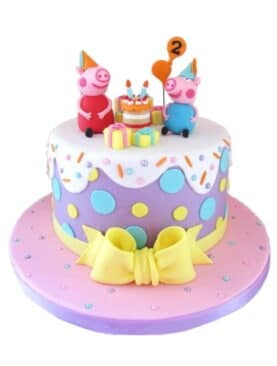 Tort Peppa Pig Party